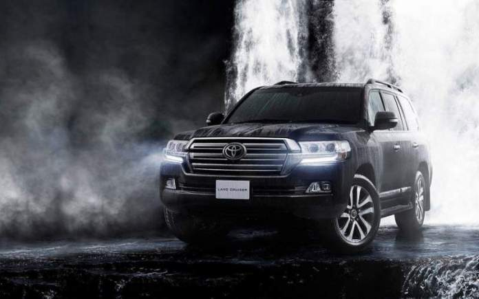 New Toyota Land Cruiser