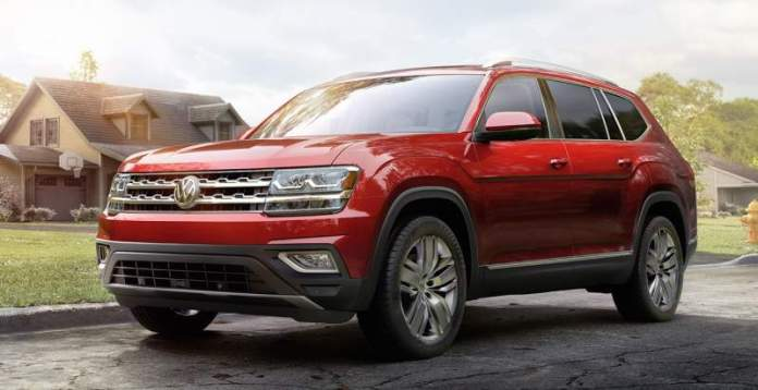New VW Atlas - 7-seater SUV