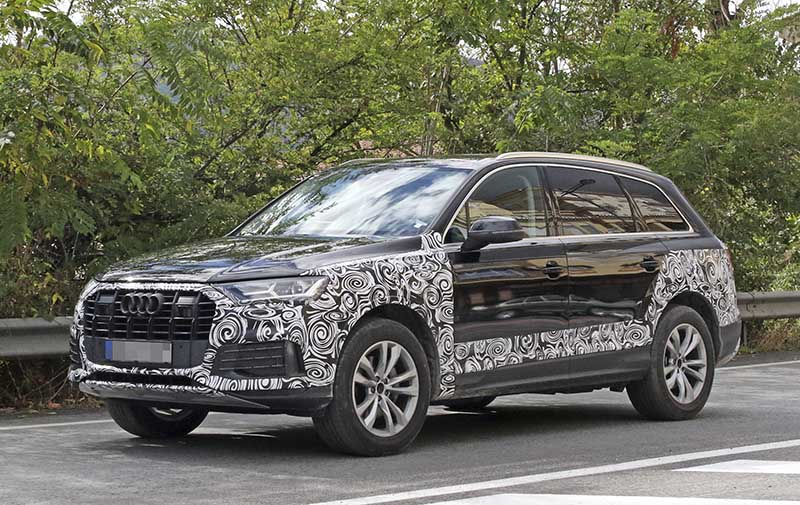 2020 audi q7 - facelift of the 7-seat luxury suv - 7