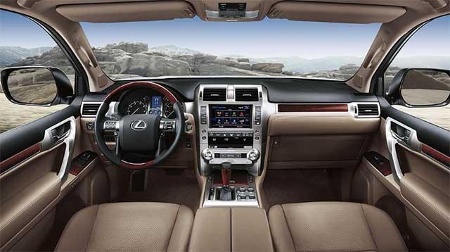 2020 Lexus GX 460 interior