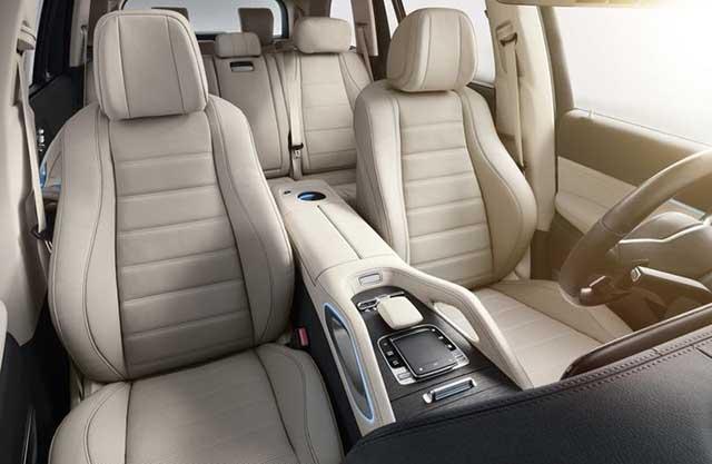 2020 Mercedes-Benz GLS 7-seat interior