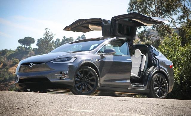 2020 Tesla Model X doors