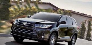 2020 Toyota Highlander redesign