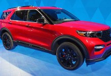 2020 Ford Explorer colors