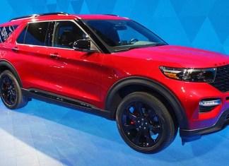 2020 Ford Explorer colors