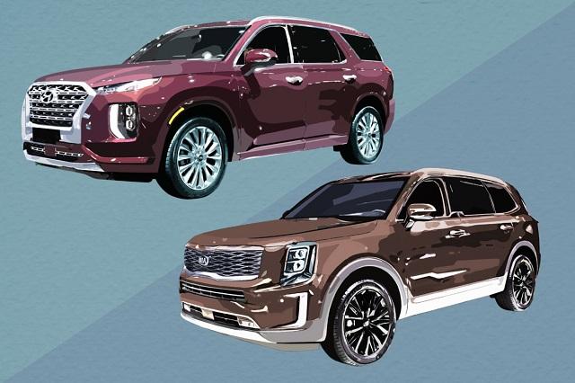 2020 Hyundai Palisade vs Kia Telluride