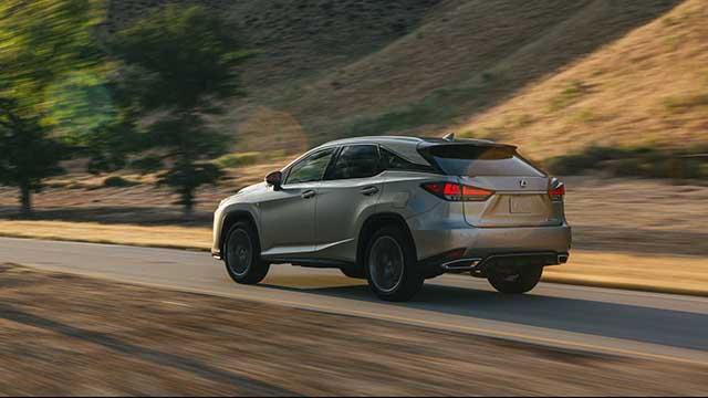 2020 Lexus RX facelift
