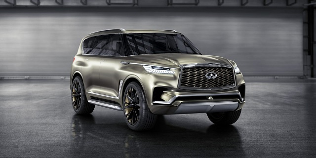the best 8-seater suvs for 2021 QX80