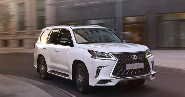 2020 Lexus LX redesign