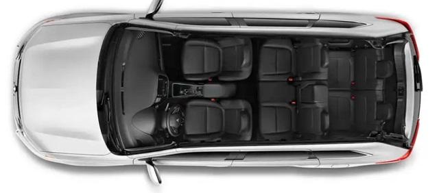 2020 Mitsubishi Outlander 7-seat interior