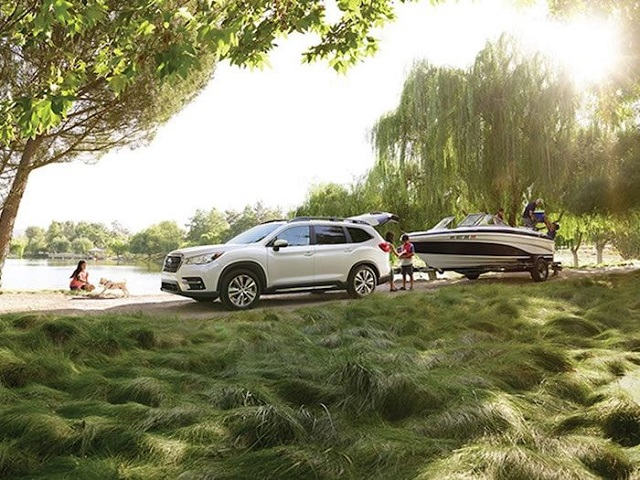 2020 Subaru Ascent towing capacity