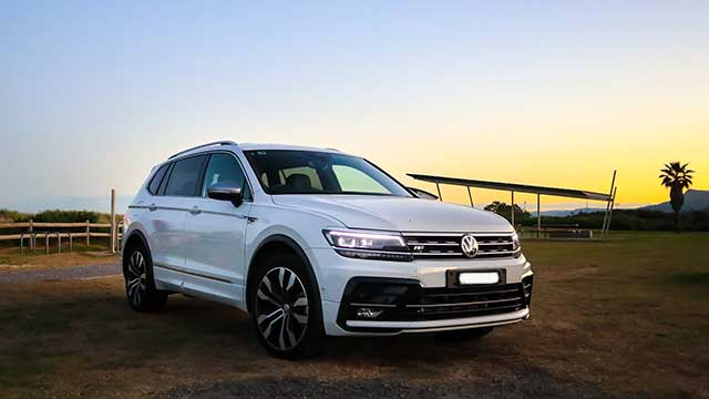 2020 Volkswagen Tiguan Allspace restyling
