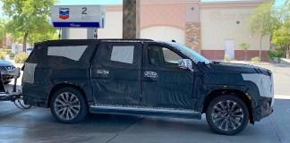 2021 GMC Yukon spied