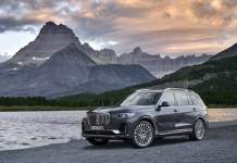 2021 BMW X7 changes