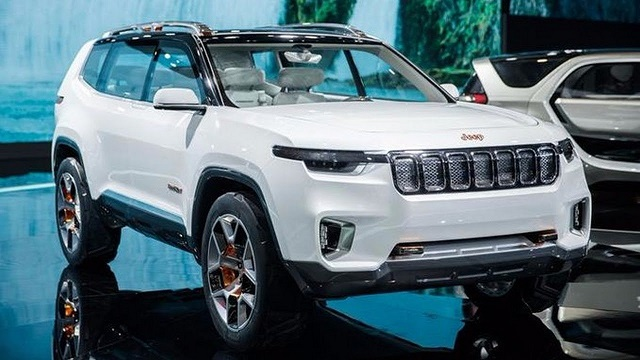 2021 Jeep Grand Wagoneer Concept