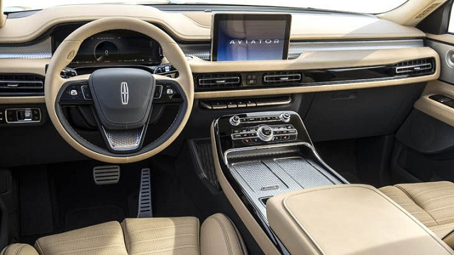 2021 Lincoln Aviator Interior