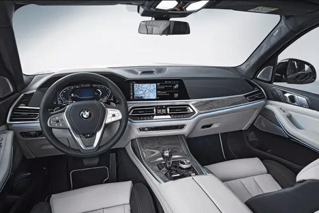 2021 BMW X8 Interior