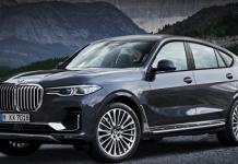 2021 BMW X8 Rendering