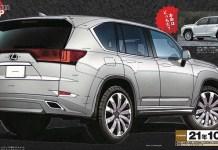 2021 Lexus LX600 Rendering