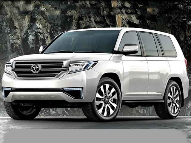 2021 Toyota Land Cruiser Render