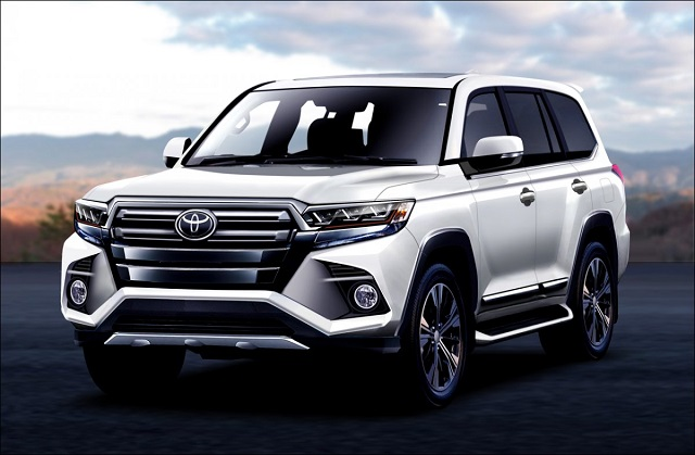 2021 Toyota Land Cruiser 300 Rendering