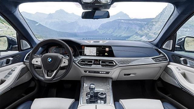 2020 BMW X7 M Interior