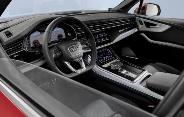 2021 Audi SQ7 Interior