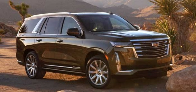 the best 8-seater suvs for 2021 Cadillac Escalade