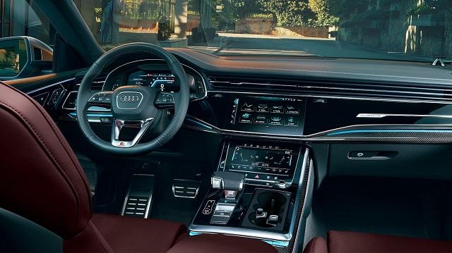 2021 Audi SQ8 Interior