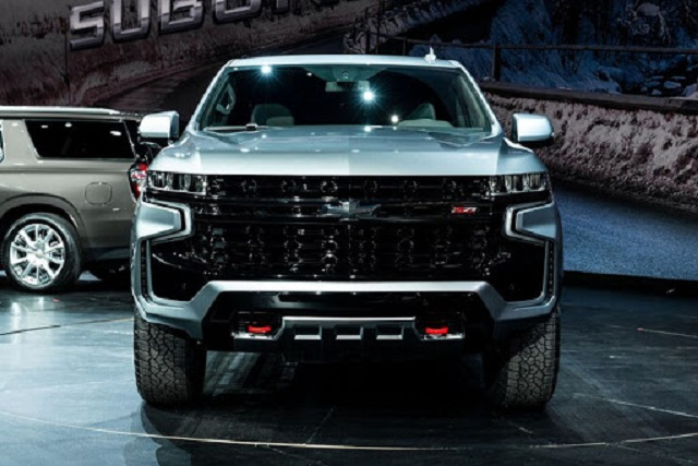 2021 Chevy Suburban Z71 front