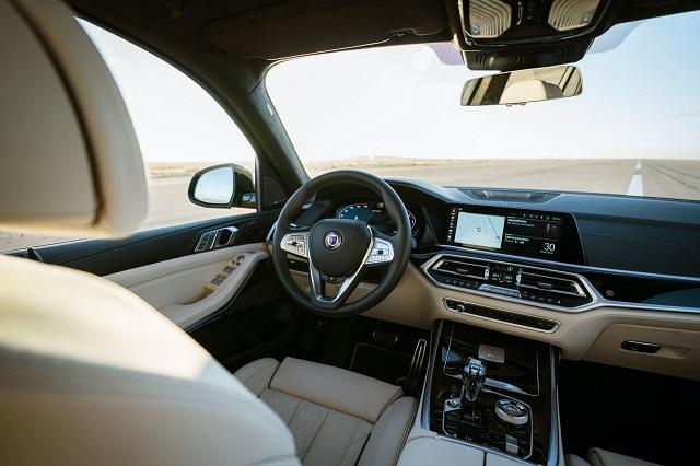 2021 BMW Alpina XB7 Interior