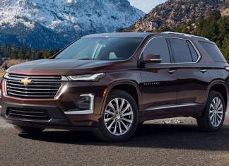 2022 Chevy Traverse facelift