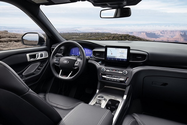 2022 Ford Explorer Interior render