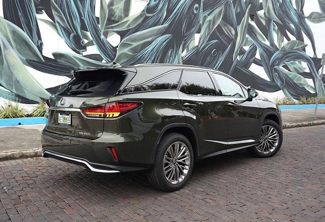 2022 Lexus RX 350 L redesign