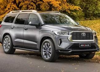2022 Toyota Sequoia render