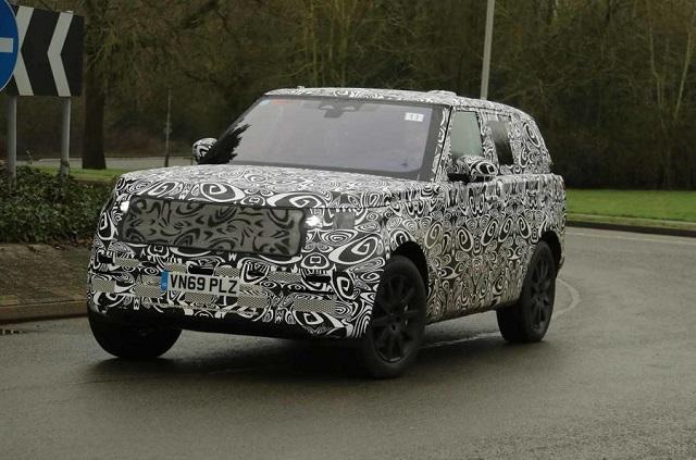 2022 Range Rover Sport spy shot
