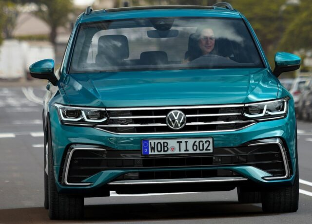 2022 VW Tiguan Allspace facelift