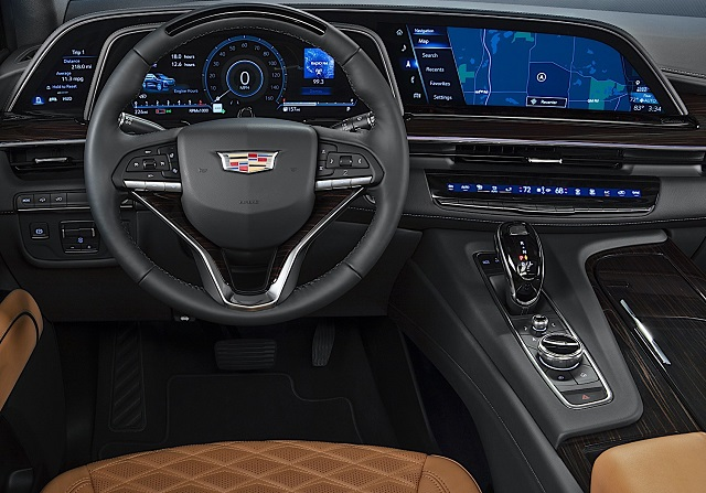 2022 Cadillac Escalade-V interior