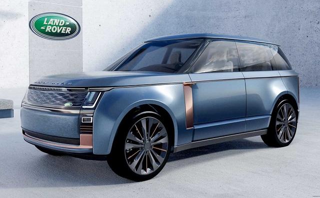 2022 Land Rover Range Rover Render