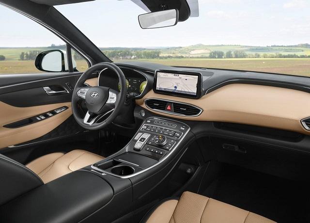 2022 Hyundai Santa Fe Interior