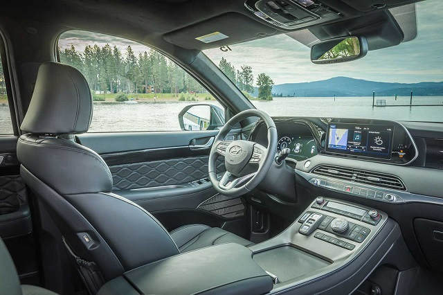 2022 Hyundai Palisade Hybrid Interior