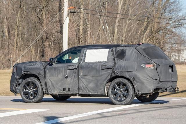 2023 Honda Pilot spy shot rear