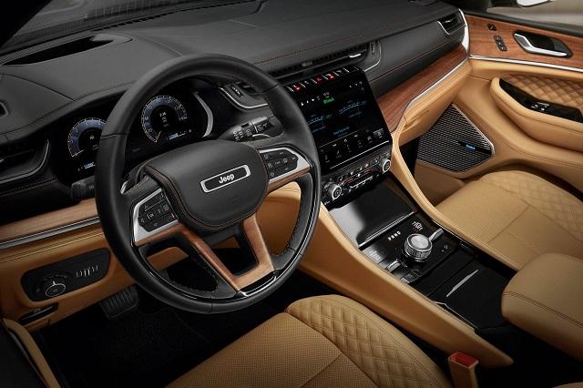 2022 Jeep Grand Cherokee L Interior