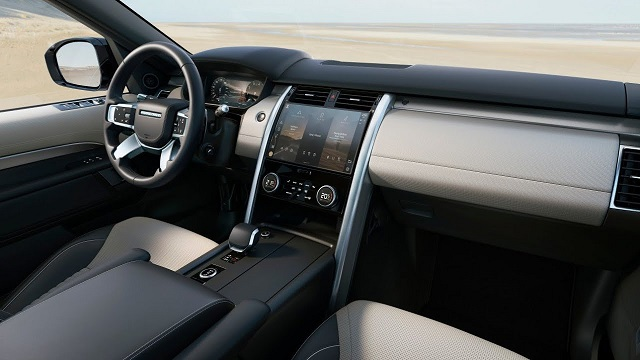 2022 Land Rover Discovery Sport Interior