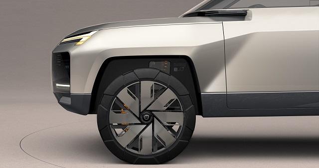 2022 Volvo XC100 concept