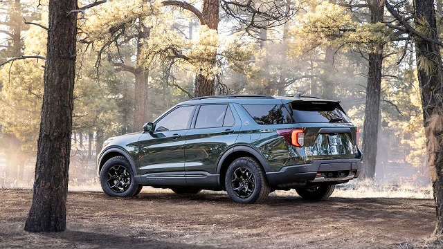 2022 Ford Explorer Timberline Release Date