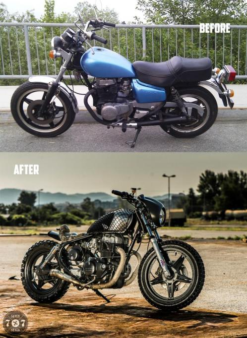 before after 77SS