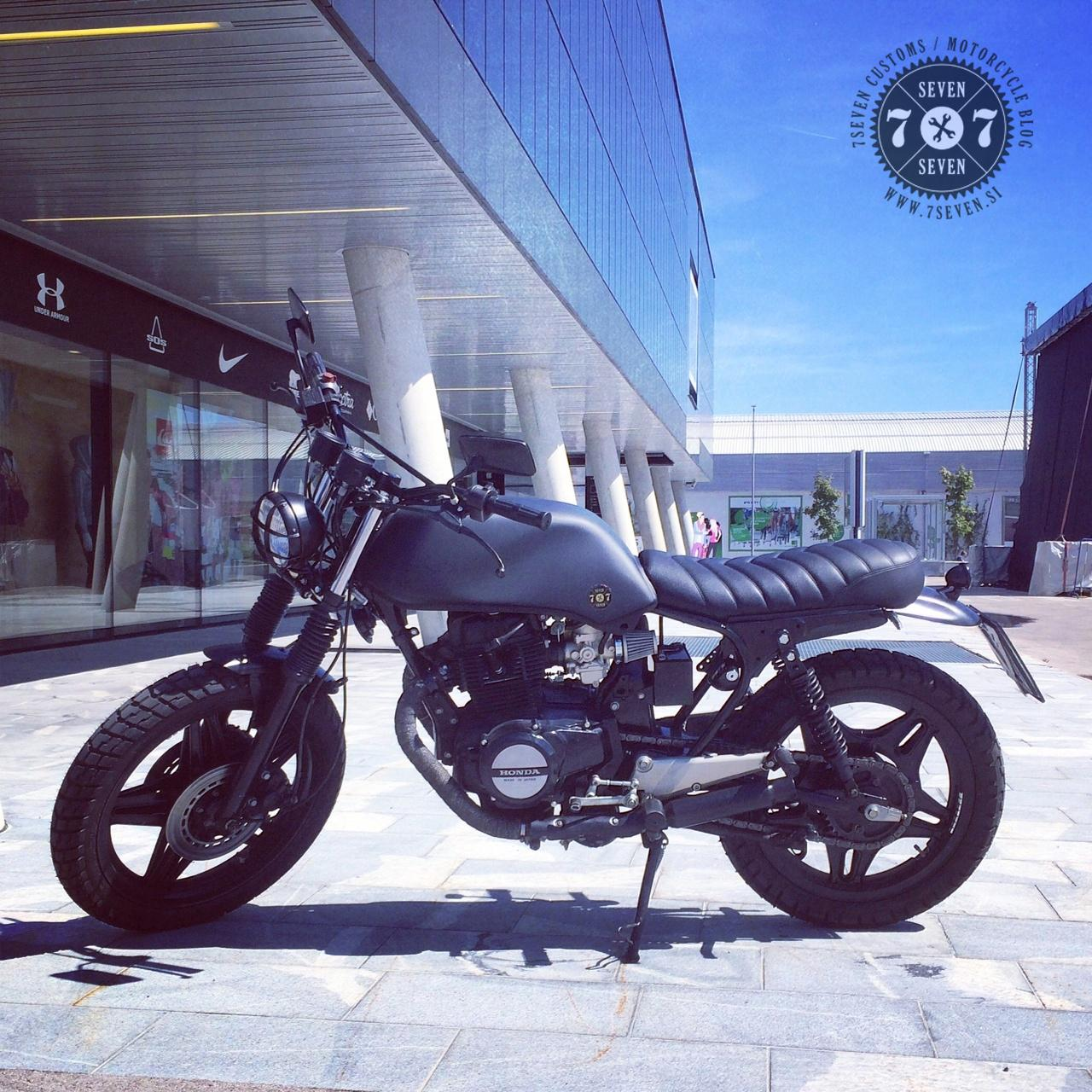 7seven Customs Scrambler 400 Donor Bike 1982 Honda CB400