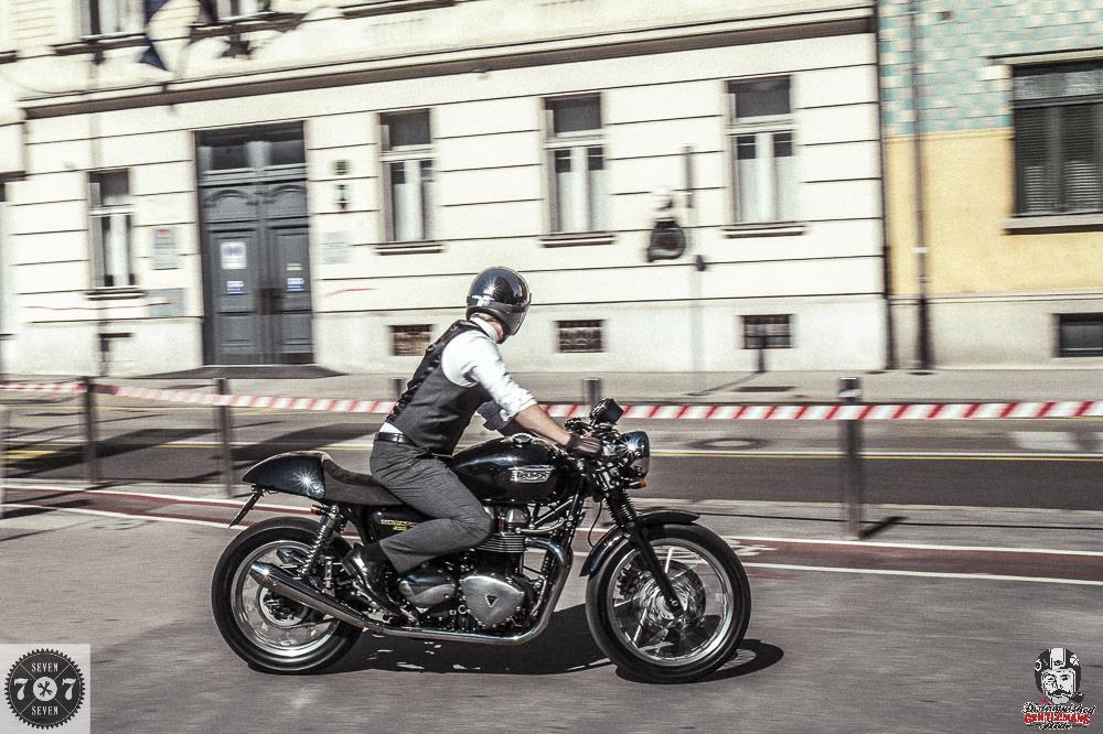 Distinguished Gentleman's Ride Ljubljana 2016.