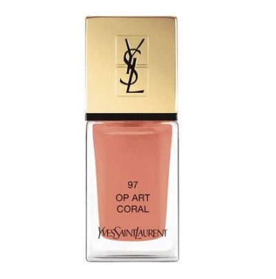 Yves Saint Laurent Beauty Le Laque Couture в оттенке Op Art Coral